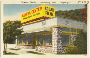 Kodak films, cameras, and processing centers used to be the standard for photo technology, however, their reluctance to embrace new technological developments led to their downfall, and serves as an example of the importance of facilitating change in a change-reluctant environment. | Image Attrib.: wikimedia